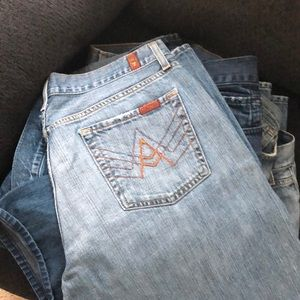 7 For All Mankind A Pocket Jeans (2)